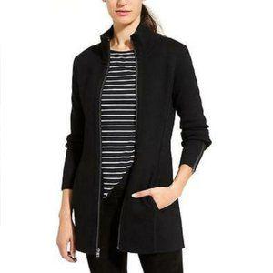 Athleta Chill Chaser Sweater Coat, Black